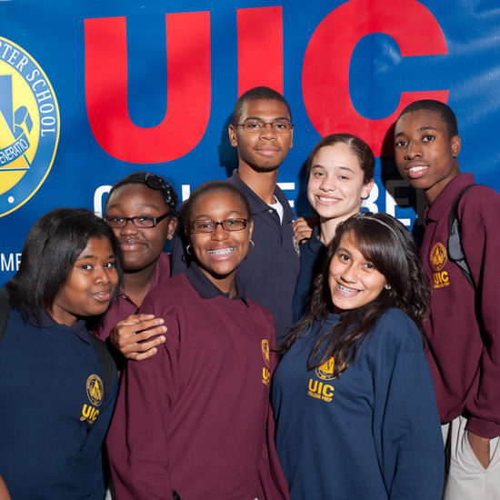 UIC College Prep students